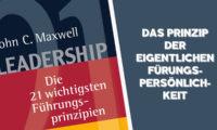 Das Prinzip der eigentlichen Führungspersönlichkeit